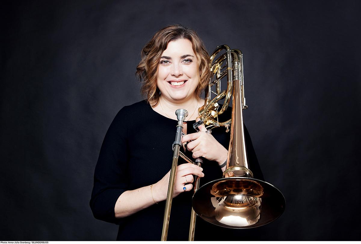 Korpsdirigent Clare Farr